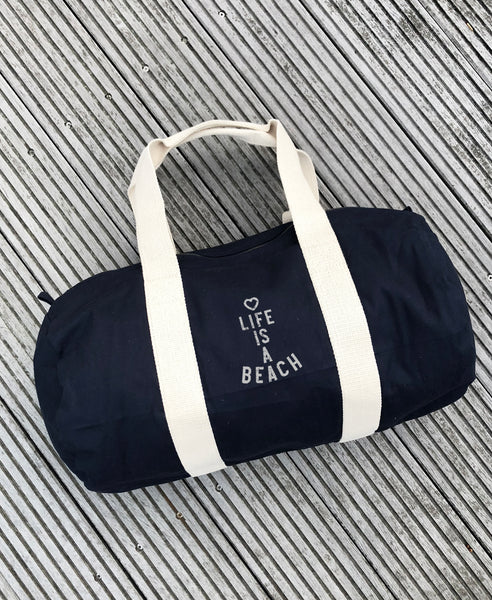 "Sports Bag ""Life is a Beach"" - Hjemhavn Sports Bag"