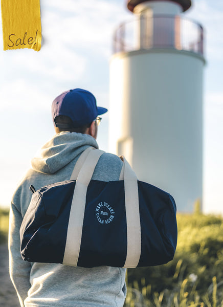 "Sports Bag ""Make Oceans Clean Again"""