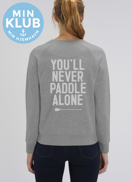 "Sweat ""You'll Never ... Alone"" - Women - Hjemhavn Sweatshirt"
