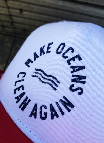"Cap ""Make Oceans Clean Again"" - Hjemhavn Cap"