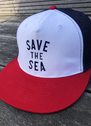 "Cap ""Save the Sea"" - Hjemhavn Cap"