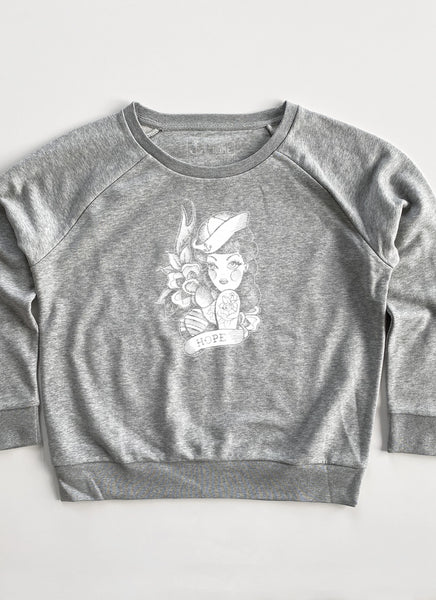 "Sweat ""Miss Hope"" - Women - Hjemhavn Sweatshirt"