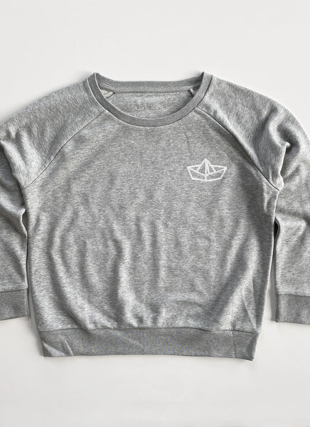 "Sweat ""Paperboat"" - Women - Hjemhavn Sweatshirt"