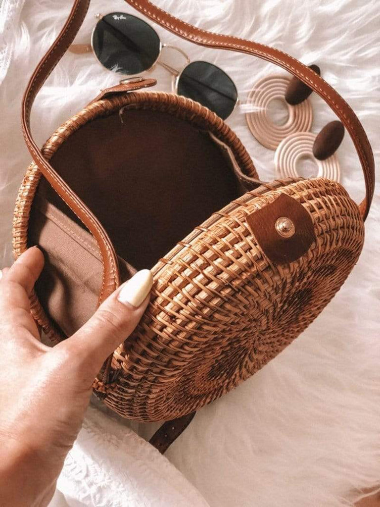Minimal Fox Accessories Macaron Straw Bag