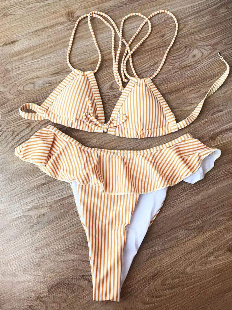 Minimal Fox Honeybee Bikini Set
