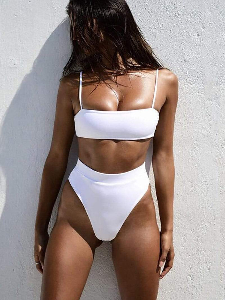 Minimal Fox White / S Cabana Bikini Set