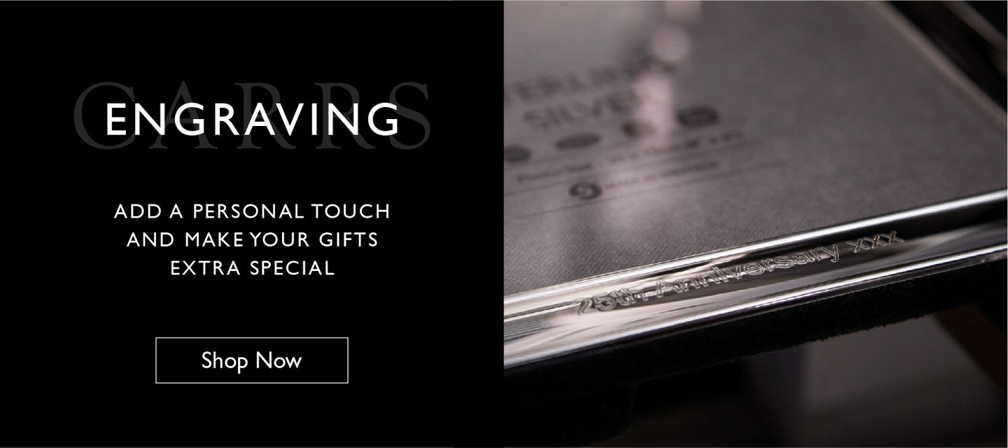Engraving - Add a personal touch and make your gifts extra special.