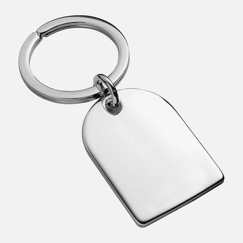 Arch Keyring Sterling Silver