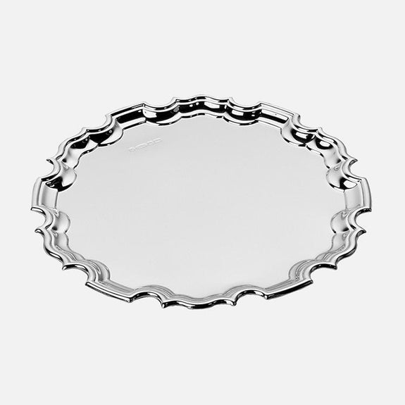 "Chippendale 5"" Waiter Sterling Silver"