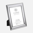 Classic Plain Photo Frame Wood Back 5x3.5 Silver Plated