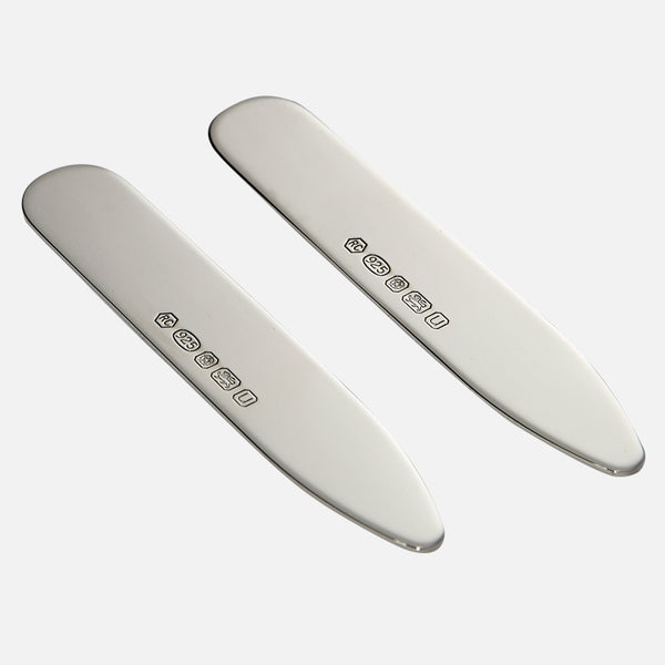 Collar Stiffeners Sterling Silver