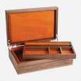 Ladies Jewellery Box Walnut Base Mandarin Lining