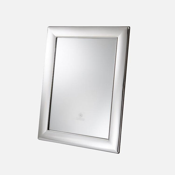 Plain Sterling Silver Frame With Mirror
