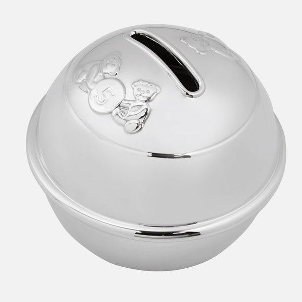 Child's Sterling Silver Money Box