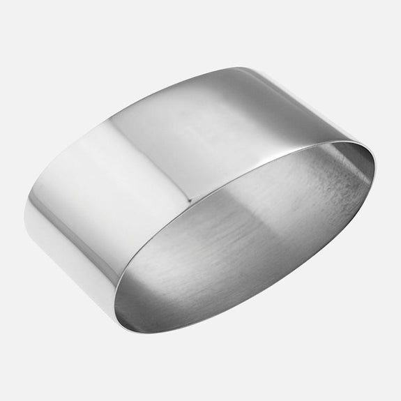 Silver Plated Oval Napkin Ring
