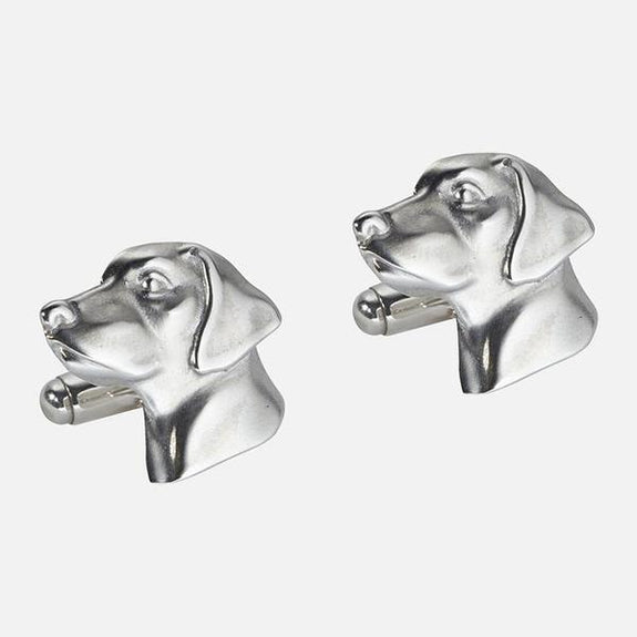 Retriever Cufflinks Sterling Silver