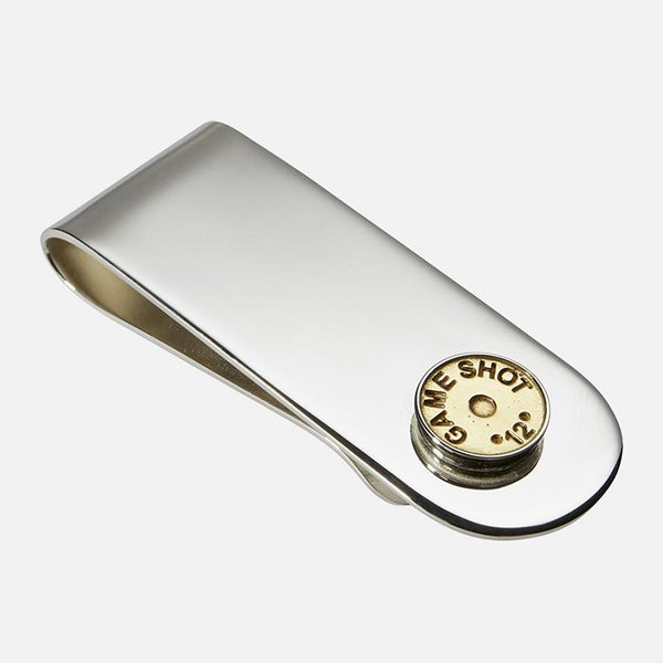 Shotgun Cartridge Money Clip Sterling Silver