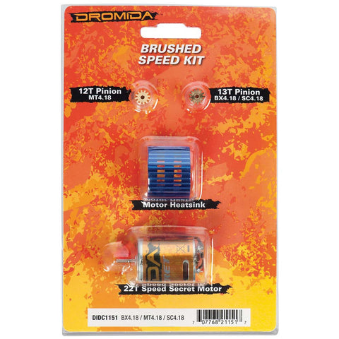 Speed Kit Brushed BX MT SC 4.18