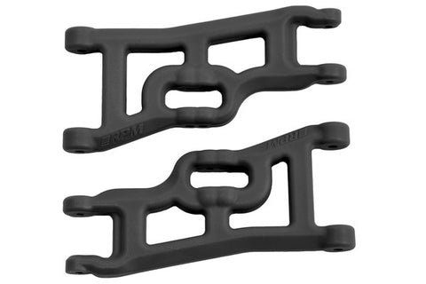Offset-Compensating Front A-arms for the Traxxas Slash 2wd & Nitro Slash   Black
