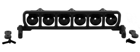 Roof Mounted Light Bar Set   Black
