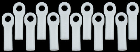 Traxxas Long Rod Ends   Dyeable White