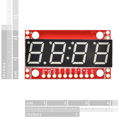SparkFun 7-Segment Serial Display - White