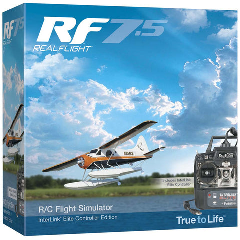 RealFlight 7.5 w/InterLink Elite Mode 2