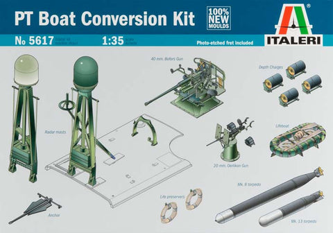 5617S 1/35 PT Boat Conversion Kit