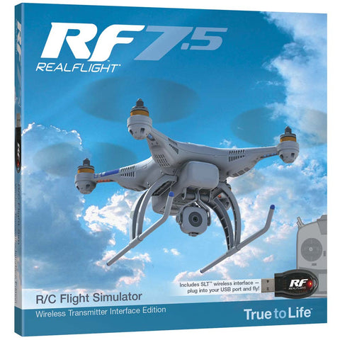 RealFlight 7.5 w/Wireless SLT Interface