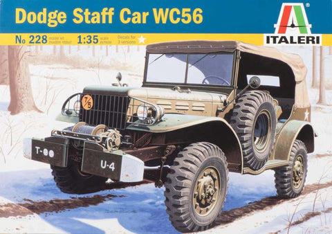 0228S 1/35 Dodge Staff Car WC 56 Soviet Union