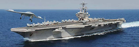 5534S 1/720 USS George H.W. Bush CVN 77