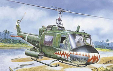 0050S 1/72 Bell Huey UH-1C Gunship Helicopter