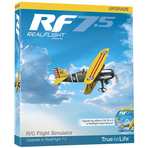 RealFlight 7.5 Upgrade For G4 And Above