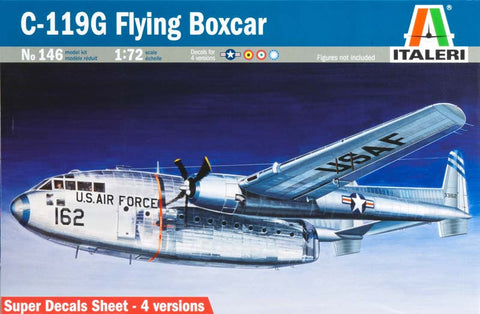 0146S 1/72 C-119G Flying Boxcar