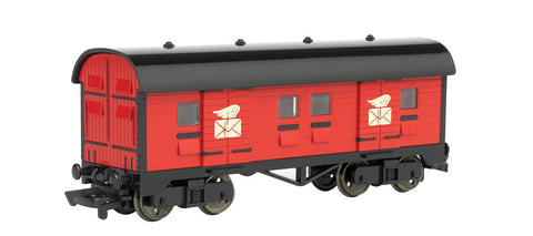 Mail Car - Red (HO Scale)