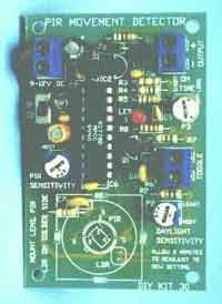 PIR Motion Detector Electronic Kit