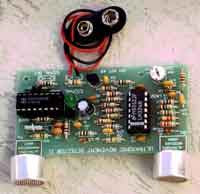 Ultrasonic Movement Detector Electronic Kit