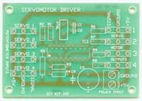 Four Servo Driver Electronic Kit