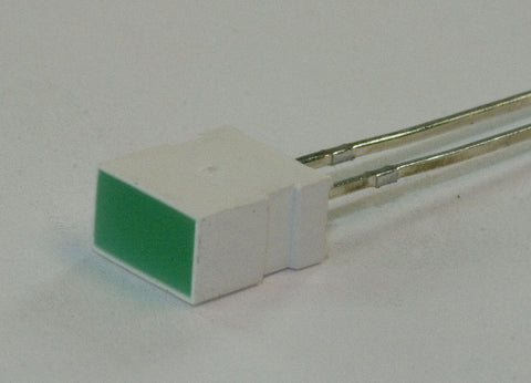 Rectangular LED - Green