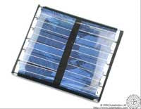 Small Solar Cell 37 x 33mm, 6.7V, 20mA