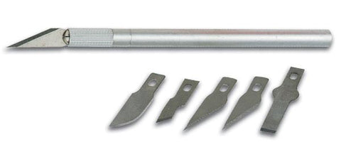 Precision Modeling Knife w/ 5 Blades