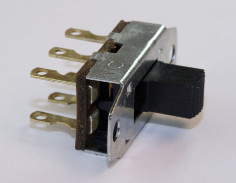 Slide Switch: DPDT, Standard Size