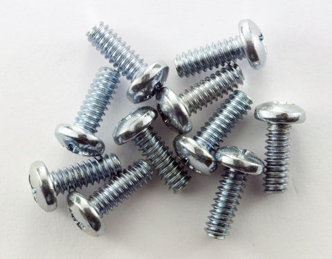 "6-32 x 3/8"" Pan Head Machine Screw (Pack of 10)"