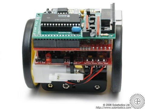 Sumovore Mini-Sumo Robot Kit w/Basic Stamp Bundle Serial