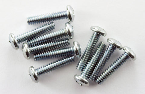 "4-40 x 1/2"" Pan Head Machine Screw (Pack of 10)"