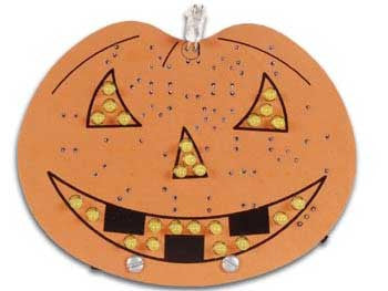 Halloween Pumpkin Electronic Kit