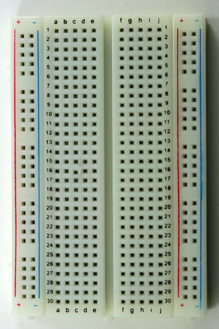 Solderless Breadboard w/400 Tie Points