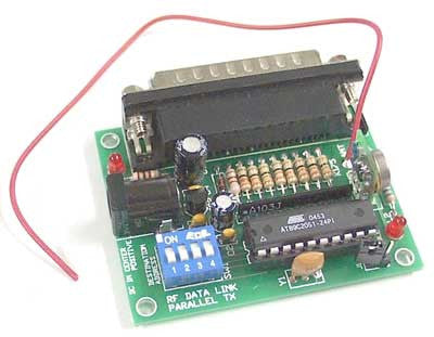 RF Data Link Transmitter, Parallel Input