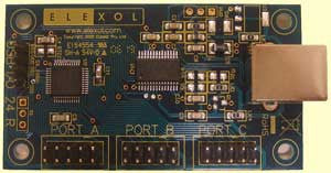 USB Interface Board with 24 Channels