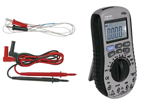 Digital Autorange Multimeter with  No Contact  AC Voltage Detector